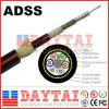 Daytai Long Distance 2-36 Núcleo ADSS Cable de fibra óptica