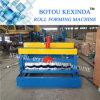 1035 superior qualidade telha de aço com vidro colorido máquina formadora de Rolo