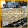 カウンタートップまたは特定のサイズにカットされたタイルのための新しいインドカシミールの金の花こう岩