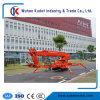 36m Diesel ou électrique de relevage de flèche télescopique à chenilles