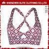 女性(ELTSBI-24)のためのポリエステル昇華Activewearの最も新しいブラ
