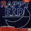 Cor do LED multi feliz decorações Eid Strip luz para iluminação doméstica