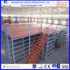 Multi-Level Warehouse Steel Mezzanine Storage Rack com estilo de piso diferente