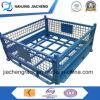 Pallet accatastabile del metallo/contenitori d'acciaio su ordinazione della rete metallica della casella/di memoria