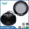 L'UL Dlc impermeabilizza 120 indicatore luminoso della baia del UFO 100W LED dell'indicatore luminoso del lavoro di Lm/W LED l'alto