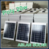 20W Poly Solar Cell pour Solar Street Light Occasion (ASL20W)