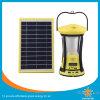 Integrierter Kippen-Sonnenkollektor-kampierendes Licht mit USB-Aufladeeinheit