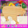 O urso de madeira do bebê novo do projeto 2016 brinca W05b152