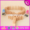 Het nieuwe Speelgoed van de Domino's van het Spel van de Jonge geitjes van het Ontwerp Grappige Houten voor Verkoop W15A075