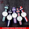 Yxl-200 Custom волокна из спорта Canvas нейлоновые НАТО Смотрите высококачественное леди платье кварцевые часы