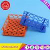 Le matériel de laboratoire chimique multifonction portoir pour tubes à essai en plastique