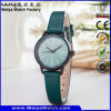 Concevoir les montres en fonction du client de femmes de cadeau de courroie en cuir d'affaires de montre (WY-122D)