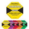 Étiquette de papier auto-adhésive de collant de choc d'expédition d'attention au choc de 5 couleurs