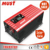 Deve 1000-3000W Baixa Freqüência PWM RS232 Inversor de Energia