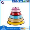 Taça da alimentação animal de estimação de aço com melamina fabricante de produtos para animais de estimação