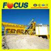 25m3/H planta de tratamento por lotes concreta móvel automática cheia Yhzs25