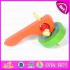 Het nieuwe Grappige Promotie Klassieke Stuk speelgoed van de Tol van het Speelgoed Houten voor Kinderen W01b018