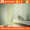 2016 Nuevo diseño de papel de pared de PVC para la decoración del hogar
