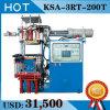 Maquinaria de borracha da modelação por injeção do silicone da eficiência elevada