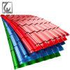 Il rivestimento di colore di PPGI ha preverniciato il tetto ondulato galvanizzato