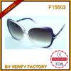 Nuevo CE de la reunión UV400 de las gafas de sol de las mujeres de la alta calidad del diseño F15602