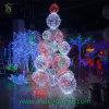 6m großes Baum-Licht der Kegel-Kugel-LED für Weihnachten
