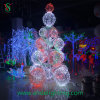 diodo emissor de luz Ball Tree Light de 6m Large Cone Ball Tree para Christmas