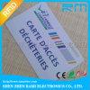 La muestra sin contacto de la tarjeta del IC 125kHz de la tarjeta brillante de la identificación RFID libera