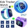 IP67 badine la montre de traqueur de GPS avec l'écran tactile coloré (D25)