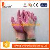 Nylon avec le gant enduit Dpu111 de sûreté de gant d'unité centrale tricoté par polyester