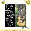 Etiquetas engomadas de la guitarra, etiquetas de la transferencia del agua (JHXY-WT0009)