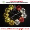 다채로운 건전지 Opreated LED 훈장 빛