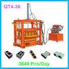 Bloc plein concret diesel hydraulique, trottoir, machine de presse de bloc de Hourdis