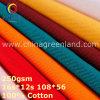 tissu épais du sergé 100%Cotton pour le textile de vêtements de travail (GLLML372)