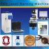Máquina santa de la marca del laser del no metal del laser Hsco2