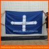 Drapeau accrochant de drapeau fait sur commande bon marché rayé