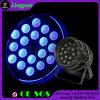 18PCS * 18W Rgbwauv IP65 LED extérieur étanche PAR Lumière