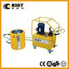 Cilindro hidráulico da contraporca mecânica ativa dobro quente da venda