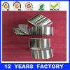 Acrílico del espesor 90mic de la alta calidad que enmascara la cinta incombustible del papel de aluminio