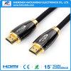 PC/ProjectorのためのHDMIの金張りケーブルへの工場価格1.4V HDMI