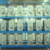 Sistema de proceso del intercambio de iones del agua del IED