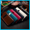Hotselling rückseitiger Deckel-Karten-Schlitz-Leder-Kasten für iPhone 7/6s/6