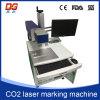Máquina quente do CNC da marcação do laser do CO2 do estilo 10W para o vidro