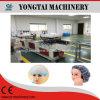 PE/Nonwoven medizinische chirurgische Bouffant Dusche-Wegwerfschutzkappe, die Maschine herstellt