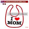 Младенческая рисберма Bib вспомогательного оборудования младенца для мамы сердца партии (P1005)