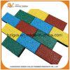 Telhas de assoalho de borracha do tijolo aprovado do Ce para o jardim de infância