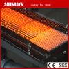Brûleur à gaz infrarouge industriel pour les tuyauteries d'aspersion de papier chaufferette