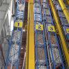 Entrepôt automatisés comme système de rack/RS avec réceptacle Crane
