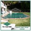 Housse de sécurité en hiver vert pour piscine