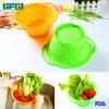 Fabricante de utensilios de cocina plegable Colanders silicona 100%